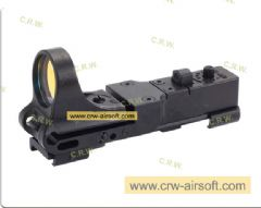 High quality CMORE Red Dot Sight (BLACK)